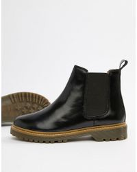 Office - Ali Black Leather Chelsea Boots - Lyst