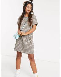 Brave Soul Pocket Detail Shift Dress - Multicolour