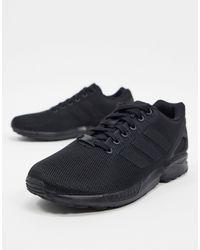 adidas Originals Черные Кроссовки Zx Flux-черный