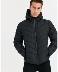 New Look Puffer Jacket - Black