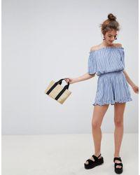 Blend She - Susi Stripe Shorts - Lyst