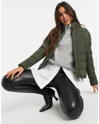 ONLY Dreamy Short Padded Jacket - Green