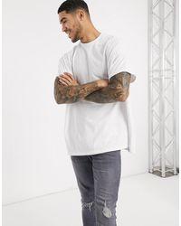 ASOS - Extreme Oversized Longline T-shirt - Lyst
