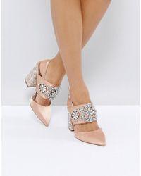 ASOS - Perfect Combo Embellished Heels - Lyst