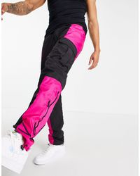 Karlkani Signature Cargo Trousers - Black