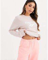 Reebok Vector - Sweatshirt - Roze