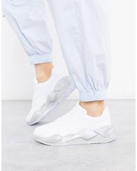 PUMA Chaussure Basket Rs-x Glitz - Blanc