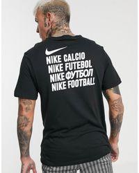 Nike Football Fc Wildcard T-shirt In Black
