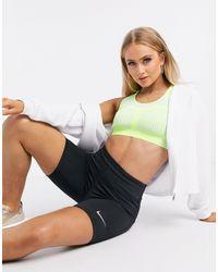Nike Leggings cortos negros con logo pequeño