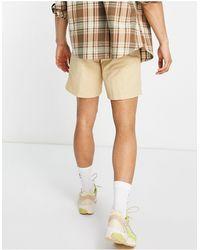 adidas Originals Светло-коричневые Шорты Из Тканого Материала С Логотипом -коричневый Цвет