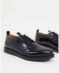 H by Hudson Calverston Lace Up Shoes - Black