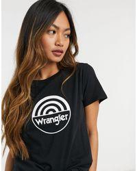 Wrangler Circle Logo T-shirt - Black
