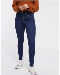 Glamorous Skinny Ankle Grazer Jeans - Blue