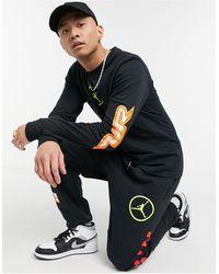 Nike Черный Лонгслив Nike Sport Dna-черный Цвет - Многоцветный