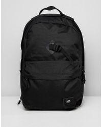 Vans Backpacks   Fanny Packs in Black for Men - Lyst a96cc456452a4