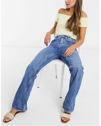 Free People Laurel Canyon - Flared Jeans - Blauw