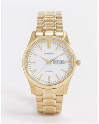 Sekonda – farbene armbanduhr mit weißem zifferblatt - Mettallic