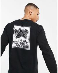 The North Face - Черный Лонгслив Stroke Mountain-черный Цвет - Lyst