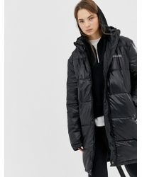 Cheap Monday Recycled Polyester Padded Jacket In High Shine - Black