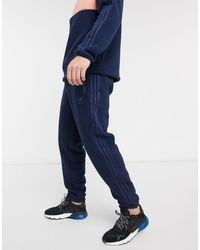 adidas Originals - Темно-синие Флисовые Джоггеры -темно-синий - Lyst