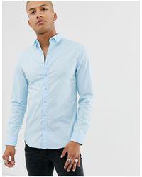 SIKSILK Shirt - Blue