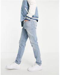 Abercrombie & Fitch Slim Fit Jeans - Blauw