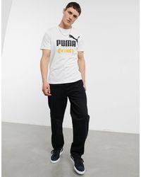 PUMA King Oversized Logo T-shirt - White