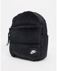 Nike Черный Рюкзак Мини Из Бархата