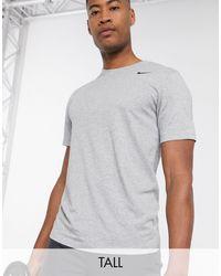 Nike Dri-fit 2.0 - T-shirt In Grijs - Zwart