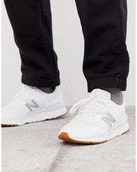 New Balance Белые Кроссовки 997 - Белый