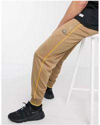 adidas Originals - Коричневые Джоггеры С 3 Полосками Premium Samstag-коричневый - Lyst