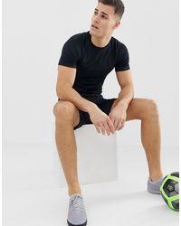 Nike Football Nike Soccer Academy T-shirt In Triple Black