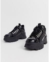 Buffalo Черные Походные Ботинки Fina - Черный