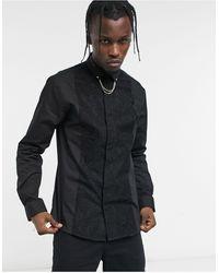 Twisted Tailor Chemise - Noir