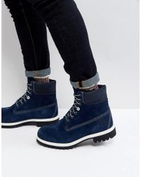 Timberland - Classic 6 Inch Suede Boots - Lyst