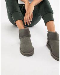 UGG Серые Ботинки Classic Mini Ii-серый