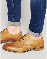 Red Tape Smart Brogues - Multicolour