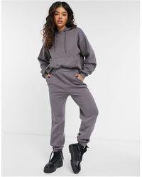NA-KD X Jasmin Azizam Sweatpants - Gray