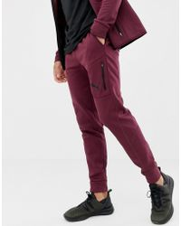 PUMA Training EvoStripe - Pantalon chaud - Bordeaux - Rouge