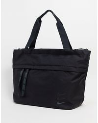 Nike Oversized Swoosh Tote Bag - Black