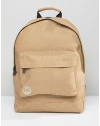 Mi-Pac - Canvas Backpack In Sand - Lyst