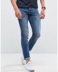 Loyalty & Faith - Loyalty And Faith Manor Skinny Fit Jeans In Mid Wash - Lyst