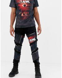 G-Star RAW Джинсы Слим С Нашивками X Jaden Smith Spiral Eclipse 3d - Многоцветный