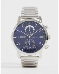 Tommy Hilfiger 1710401 Kane - Horloge - Metallic