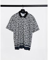 ASOS Relaxed Jersey Shirt - Black