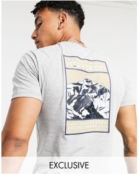 The North Face – Faces – es T-Shirt, exklusiv bei ASOS - Grau