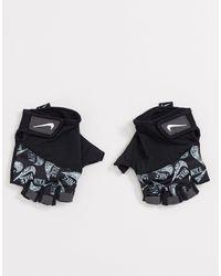 Nike Спортивные Перчатки С Принтом Training-черный