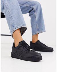 Nike Air Force 1'07 Zapatillas - Negro