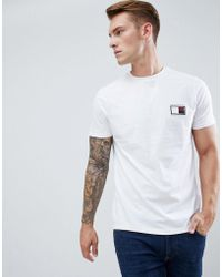 New Look - T-shirt With Colorado Embroidery In White - Lyst