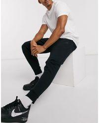 Nike - Черные Флисовые Джоггеры Tech-черный - Lyst